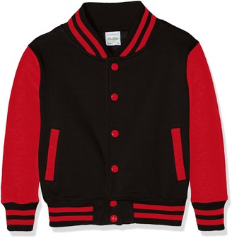AWDis Boy's Kids Varsity regular Jacket