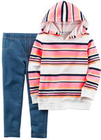 Carter's 2-Piece French Terry Hoodie & Jegging Set