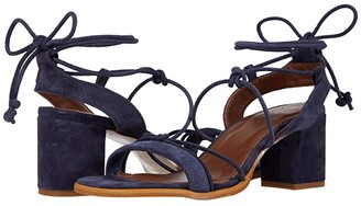 ALOHAS Sophie Heeled Sandals (Navy) Women's Shoes