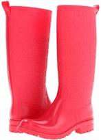 Marc by Marc Jacobs Dreamy Logo Rubber Rain Boots (Rubber Lollipop/Rubber Print Lollipop) - Footwear