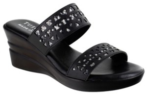 Easy Street Shoes Tuscany by Rosalie Wedge Sandals Women's Shoes