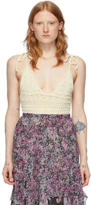 Isabel Marant Off-White Fuzz Bodysuit