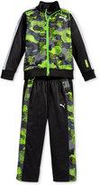 Puma Little Boys' 2-Pc. Tricot Track Jacket and Pant Set