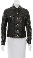 Frame Leather Long Sleeve Jacket w/ Tags