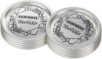 Leifheit Classic Wide-Mouth Canning Lids - Setof 12