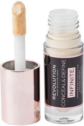 Makeup Revolution Conceal & Define Infinite Longwear Concealer C0.2