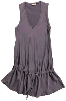 Brunello Cucinelli Purple Silk Top for Women