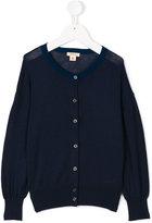 Bellerose Kids - round neck cardigan - kids - Silk/Polyamide/Viscose - 6 yrs