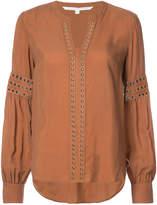 Veronica Beard stud embellished blouse