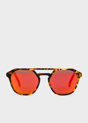 Paul Smith Honeycomb Tortoise 'Barford' Sunglasses