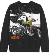 Christopher Kane Printed Cotton-jersey Sweatshirt - Black