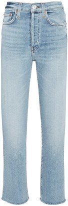 RE/DONE 70s High-Rise Stove Pipe Jeans