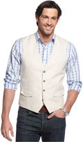 Tasso Elba Big and Tall Vest, Button Front Vest