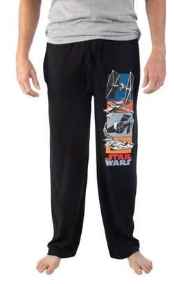 Star Wars Men's Episode 4 Ships Lounge Pajama Pants