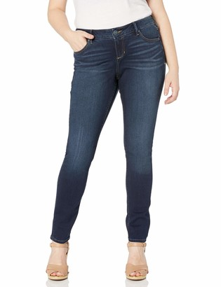 SLINK Jeans Women's Plus Size Amber Skinny 14w