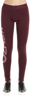 Kenzo Logo Printed Leggings