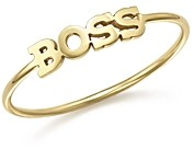 Zoë Chicco 14K Yellow Gold Boss Ring