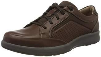 Clarks 261464877 Mens Un Trail Form Mahogany Leather Lace-Up Shoes, Brown (Mahogany Leather Mahogany Leather), (42.5 EU)