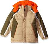 iXtreme Big Boys' Cut and Sew Colorblock Puffer