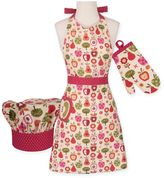 Apple-A-Day Kid's 3-Piece Chef's Accessory Set
