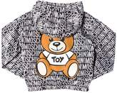 Moschino Bear Printed Hooded Nylon Jacket