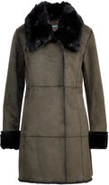 Ralph Lauren Paneled Faux-Shearling Jacket