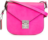 MCM fold-over closure crossbody bag - women - Leather - One Size