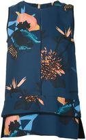 Proenza Schouler floral print top