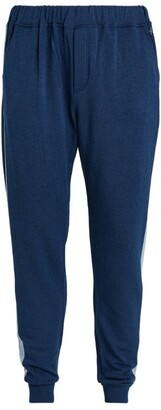 Homebody Contrast-Stripe Snuggle Sweatpants