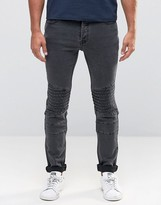 ONLY & SONS Biker Jeans in Slim Fit