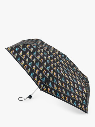 Fulton Birds Print Super Slim Umbrella, Multi