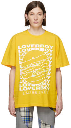 Charles Jeffrey Loverboy Yellow Cult of Jupiter T-Shirt