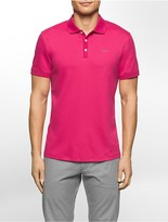 Calvin Klein Classic Fit Cotton Stretch Polo Shirt