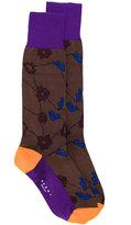 Marni floral socks