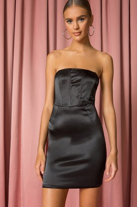 superdown Leila Strapless Dress