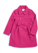 Kate Spade Girls 2-6x Wool-Blend Walking Coat