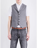 Brunello Cucinelli Slim-fit Wool Waistcoat