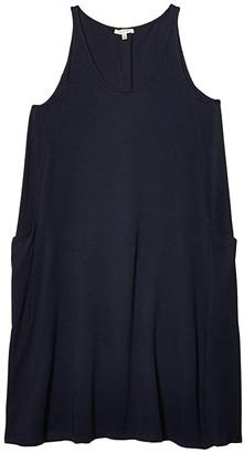 Skin Natural Ryanne Organic Cotton/Modal Chemise (Ocean Drive) Women's Clothing