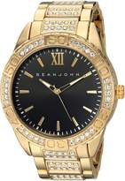 Sean John Men's 'Bond' Quartz Metal and Alloy Dress Watch, Color:Gold-Toned (Model: SJC0171005)