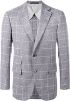 Pal Zileri plaid blazer - men - Cotton/Cupro/Wool - 48