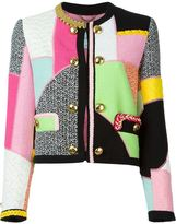 Moschino patchwork jacket - women - Cotton/Polyamide/Rayon - 42