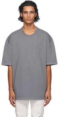 Maison Margiela Grey Garment Dye T-Shirt
