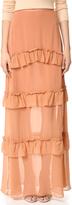 Nicholas Georgette Tiered Skirt