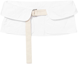 Jil Sander Quilted Cotton Waist Belt