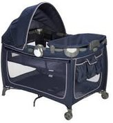 Eddie Bauer Complete Care Playard twilight blue by