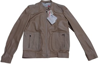 See by Chloe Beige Leather Leather Jacket for Women