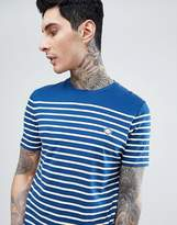 Pretty Green Bonetta Stripe T-Shirt In Navy