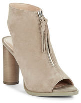 French Connection Uttara Suede Open-Toe Ankle Boots