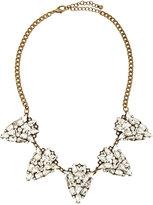 Jules Smith Designs Rhinestone Teardrop Necklace