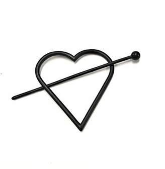 Steve Madden Women's Heart Shaped -Tone Hair Pin